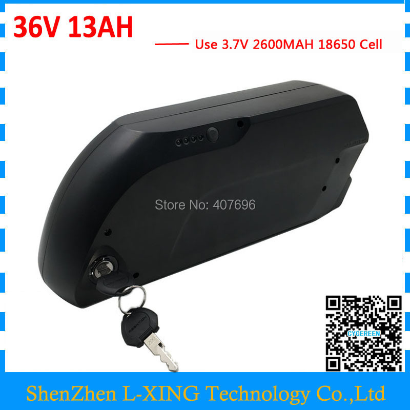 Free customs fee 36V Ebike battery 36V 13Ah Li ion battery pack for 36V 500W 350W 250W Bafang Motor with USB Connector free customs duty hot selling down tube ebike battery 36v 13ah samsung lg lithiu ion battery pack