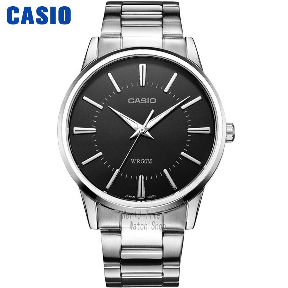 CASIO часы мужские | Бизнес Модные простые кварцевые Мужские часы MTP-1303D-1A MTP-1303D-7A MTP-1303D-7B MTP-1303L-1A MTP-1303L-7B MTP-1303SG-7A