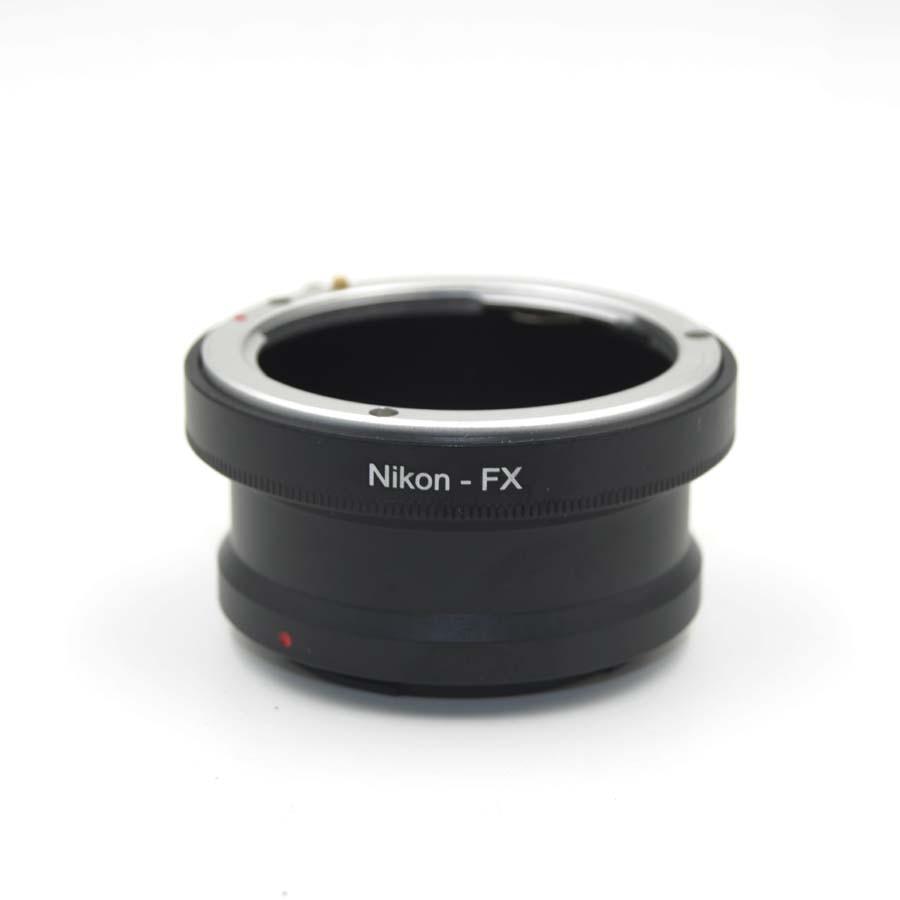 AI-FX Montage Bague D'adaptation D'objectif pour Nikon F AI pour Fujifilm Fuji FX X X-Pro1 XPro1 X-E1 XE1 XE2 X-T10 XT10 X-A1 XA1 X-T1 X-T2 XT2