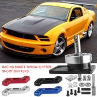 Racing Short Throw Shifter For 79 04 Ford Mustang Gear Lever Shift Lever With Base Drop Shipping