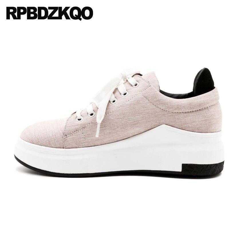 women 11 round toe pink flats fashion