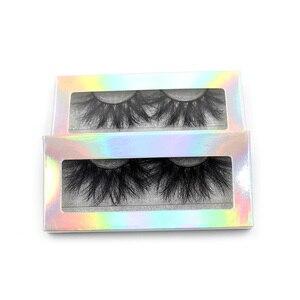 Image 5 - LEHUAMAO 25mm Eyelashes 5D Mink False Eyelashes Crisscross Strands Cruelty Free High Volume Mink Lashes Soft Dramatic Eye lash
