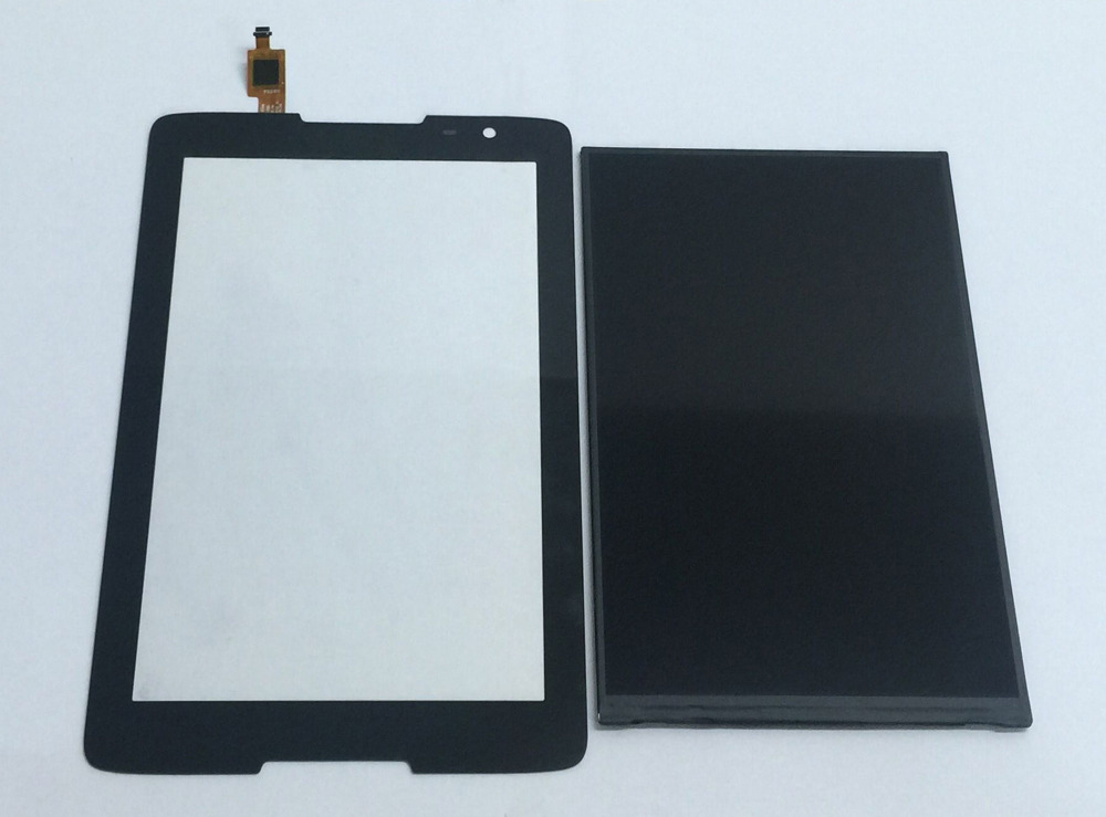 цены Touch Screen Sensor Glass Digitizer + LCD Display Panel Monitor Module for Lenovo IdeaTab A8-50 A5500 A5500F A5500-H A5500-HV