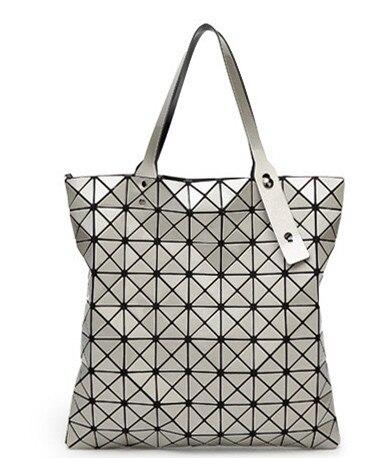 ФОТО Hot bao bao bag 2017 Handbags Geometric Pattern Laser Hologram Bag Luxury Shoulder Bags Top Design Bolsos Sac A Main
