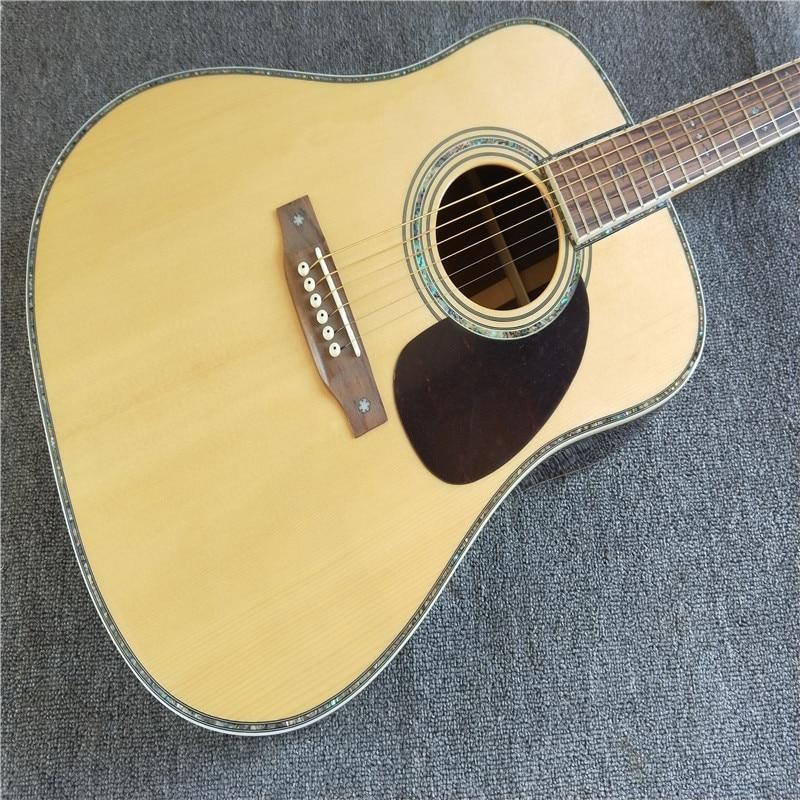 Factory Custom 41'' 20 Frets Cutaway Body Acoustic Guitar