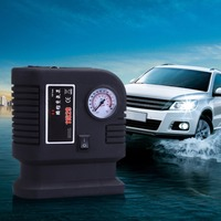 Portable 12V 300PSI Car Tire Inflator Pump Auto Car SUV Pump Air Compressor 3 Adapter