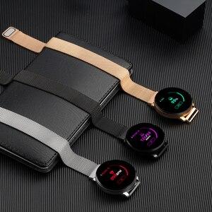 Image 5 - หน้าจอสัมผัสเต็มรูปแบบ สมาร์ทนาฬิกาสร้อยข้อมือฟิตเนส อัตราการเต้นของหัวใจ ความดันโลหิต ติดตาม ผู้ชายผู้หญิงนาฬิกาข้อมือสำหรับ Android iOS Xiaomi