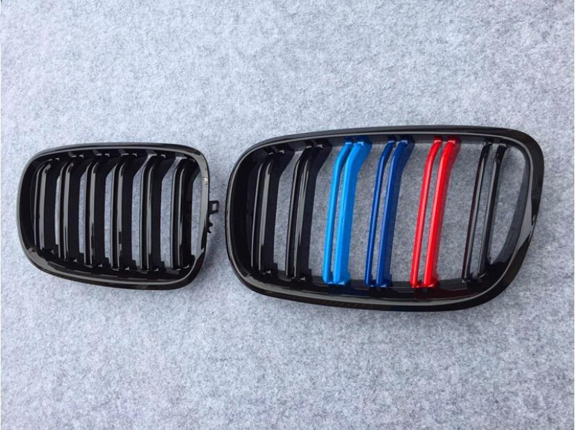 Grille bande Filtre Grill Cover Versions pour BMW X5 X5M X6 X6M E70 E71 2008 2009 2010 2011 2012 2013 par SME