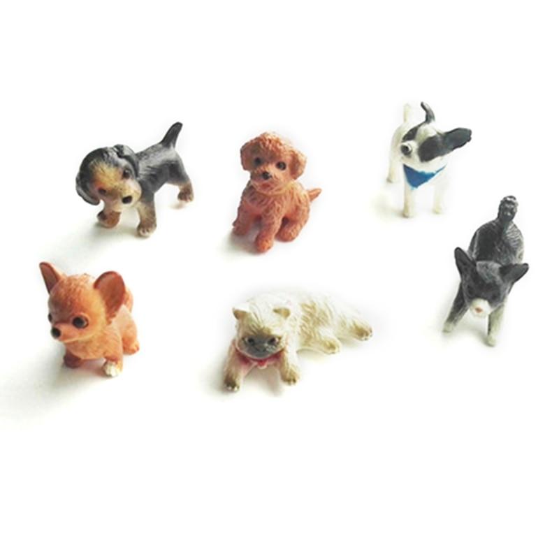 Miniatures Dollhouse Dog Kennel for 1//12 Dollhouse Garden Decoration Accessory