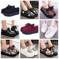 Las mujeres Zapatos de Los Planos 2016 de la nueva manera zapatos creepers mujer Enredaderas zapatos de plataforma más el tamaño