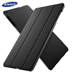 สำหรับ Samsung Galaxy Tab 10.1 นิ้ว 2019 กรณี Ultra Slim หนังแม่เหล็กสำหรับ Samsung Tab SM-T510 SM-T515 funda Capa