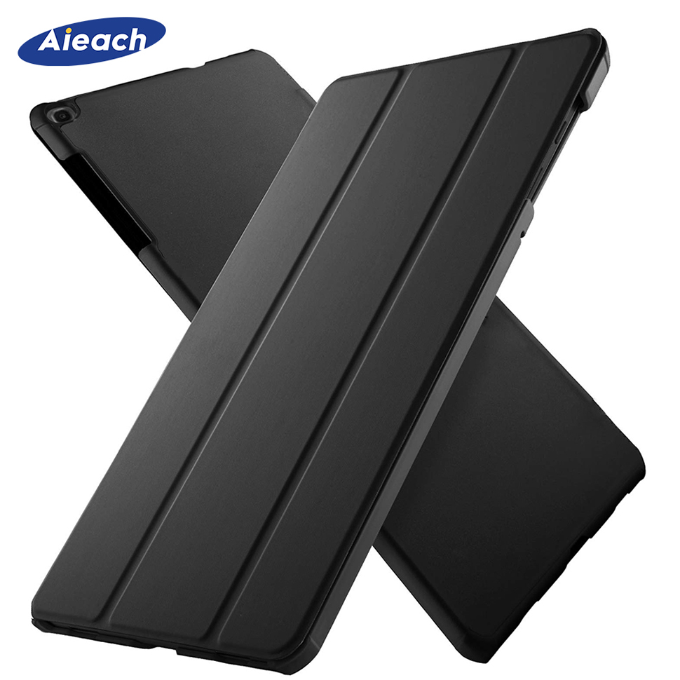 For <font><b>Samsung</b></font> Galaxy Tab A 10.1 inch 2019 <font><b>Case</b></font> Ultra Slim Leather Magnetic Stand Cover For <font><b>Samsung</b></font> Tab SM-<font><b>T510</b></font> SM-T515 Funda Capa image