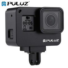 PULUZ For GoPro NEW HERO/HERO7 Black /6 /5 Housing Shell Case CNC Aluminum Alloy Protective Cage &Insurance Frame