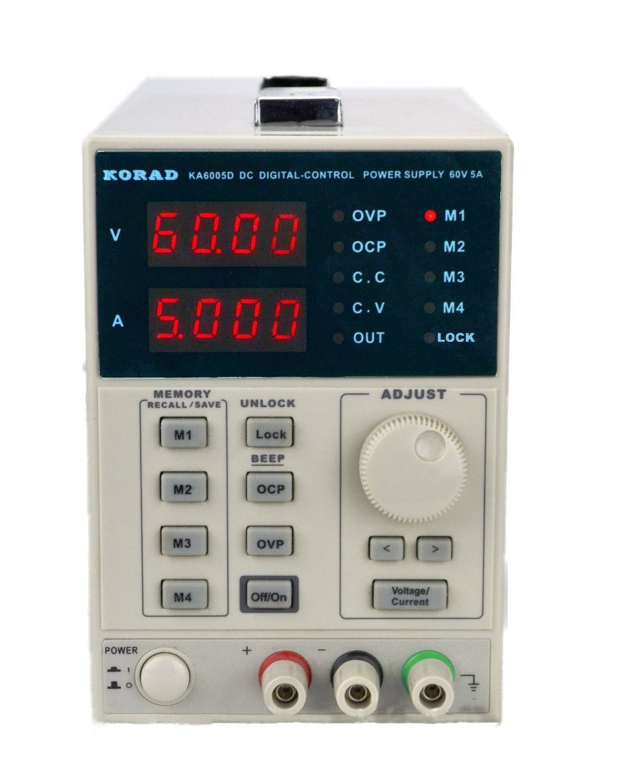 KORAD KA6005D -Precision Variable Adjustable 60V 5A DC Linear Power Supply Digital Regulated Lab Grade it6720 programmable dc power supply 60v 5a lab grade