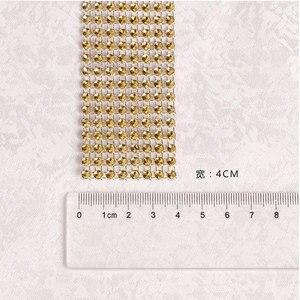 Image 4 - 100 個のラインストーンナプキンリング結婚式のテーブルデコレーション用祭パーティー用品結婚式タオルリング家の装飾のため