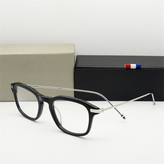 3cbb97f2864 2018 New Fashion Computer Eyeglasses For Men Women High Quality Round  Rending Computer Glasses Vintage Optical Oculos