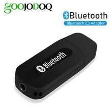 Bluetooth 2.1 מקלט Dongle 3.5mm שקע אלחוטי סטריאו מוסיקה אודיו מקלט מתאם USB לרכב AUX אנדרואיד/IOS נייד טלפון