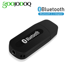 Bluetooth 2.1 Receiver Dongle 3.5mm Jack Wireless Stereo Music Audio Receiver USB Adapter for Car AUX Android/IOS Mobile Phone