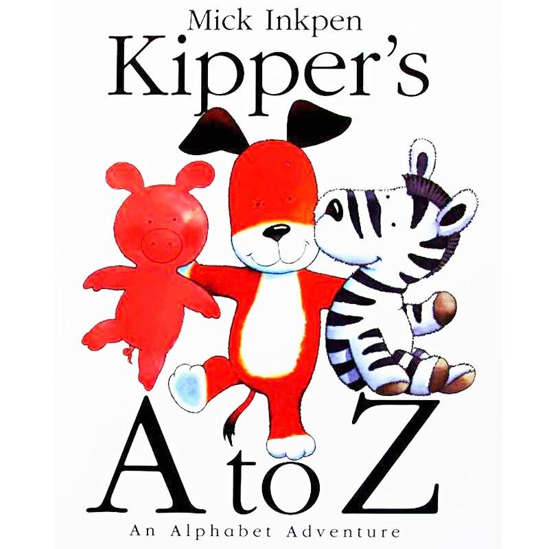 Kipper's A to Z: une aventure de l'alphabet éducatif anglais livre d'images d'apprentissage livre d'histoire pour bébé enfants cadeaux