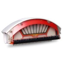 Caixa de coleta poeira filtro bin coletor para irobot roomba 500 série robôs limpeza a vácuo 560 570 580 52708 551 527 530 535
