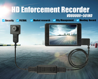 HD 3.0inch Police Camera Security Guard Recorder MINI DVR Body Pocket portable RECORDER Camera Motion free shipping
