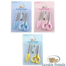 New Practical Baby Clipper Trimmer Convenient Daily Baby Nail Care Set Lovely Mini Baby Care Blue Pink Yellow Baby Manicure Set цена