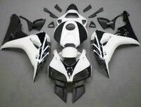 L36 Aftermarket body parts for white black fairings CBR1000RR 06 07 motorcycle fairing kit CBR 1000RR 2006 2007