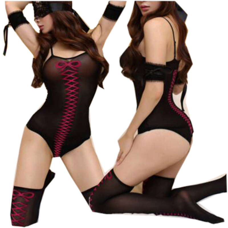 font b Sex b font Products Lady Sexy Porn Lingerie Women Sexy Bodysuit Teddy Erotic