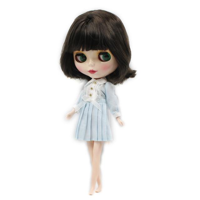 TBL Neo Blythe Doll Short Black Hair Regular Body