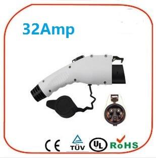 ZWET sae j1772 ev socket plug EVSE Cable Female Plug For EV SAE J1772 32A 240VAC