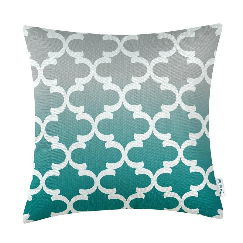 Kvadrat CaliTime Yastığı Örtük Yastıqları Shell Ev Divan - Ev tekstil - Fotoqrafiya 3