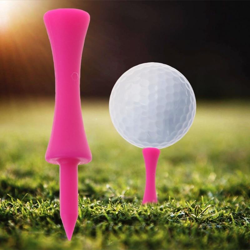 10 шт. Пластик Профессиональный Ти для гольфа держатели обучение аксессуары 5,7 см Открытый