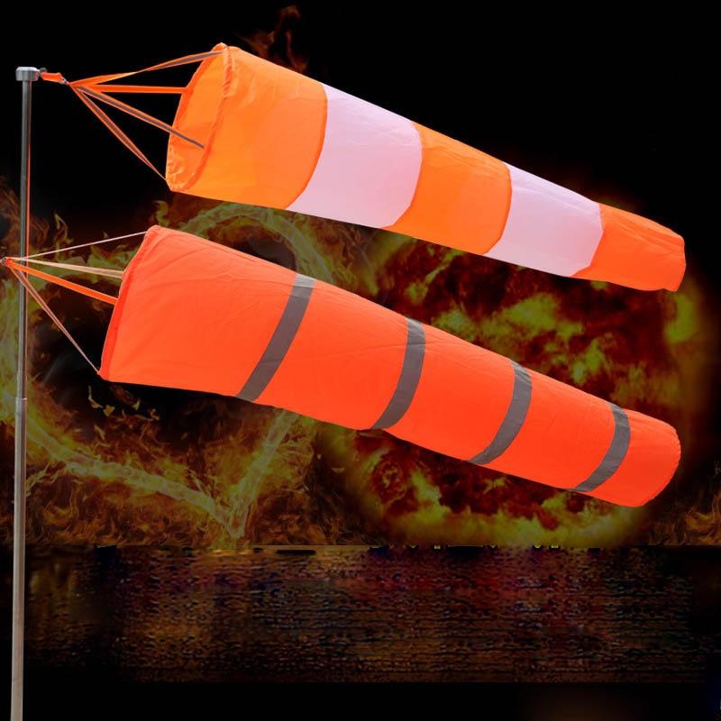Hot Selling All Weather Windsock Weathervane Luminous Outdoor Wind Monitoring Kite Wind Indicator