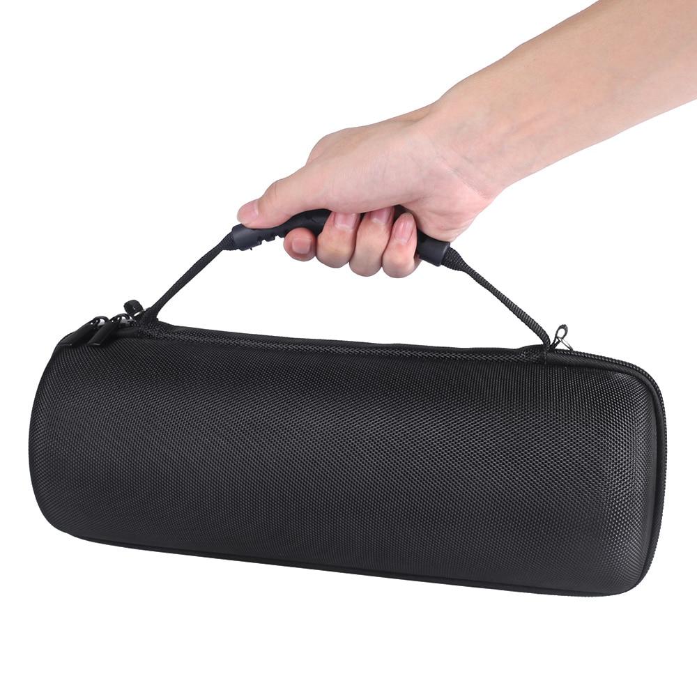 Купить с кэшбэком 2018 New PU EVA Hard Case for JBL Pulse 3 Speaker Carry Storage Case Pouch for JBL Pulse3 Bluetooth Speaker Bags (With Belt)