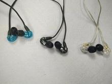 Em Estoque! SE215 Hi-fi estéreo Fones De Ouvido 3 Cores 3.5 MM Em fones de ouvido Fones De Ouvido fone de ouvido Cabo Separado com Caixa VS SE535