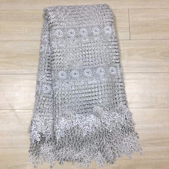 Rhinestones Embroidered French Mesh Lace Fabric white Color African Swiss  Voile Lace In Switzerland India stones Tulle Lace H18 65b3cb9233a6