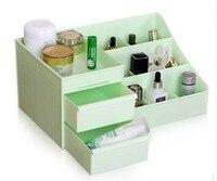 Stylish Double Drawer Storage Box Cosmetic Desktop Storage Rack