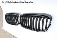 Одна линия coloer яркий черный решетка подходит для bmw 2 серии GT F45 F46