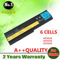 Wholesale New 6cells laptop battery  FOR ThinkPad X200 X200S X201 X201IX201S Series42T4534 42T4535 42T4542 42t4543 free shipping