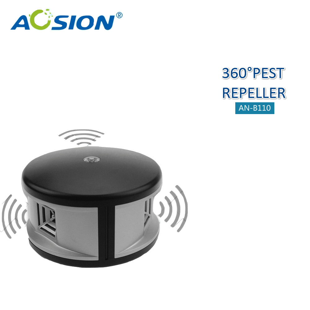 Home Aosion 360 degree ultrasonic Rats rodent mouse mice repellent and electronic mosquito cockroach pest repeller control