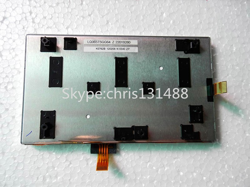 Shapp LQ065T5GG64 LCD display 400 234 with touch screen panel monitor for Mitsubishi DVD audio for