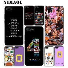 YIMAOC Friends TV Show Soft Silicone Case For Huawei Honor Mate 10 P20 P10 P9 P8 P Smart Y6 6A 7A 7X 7C Lite Pro 2017 2018(China)