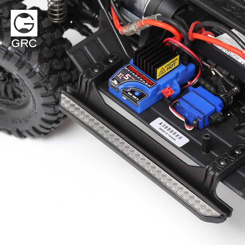Rc Car Upgrades parts TRAXXAS trx-4 Side metal skid plate pedal