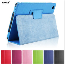For Apple Ipad 2 3 4 Case Anti Dust PU Leather Flip Cover Protective Shell Skin 9.7 inch Tablet Smart Cover Cases For Ipad 4 3 2(China)