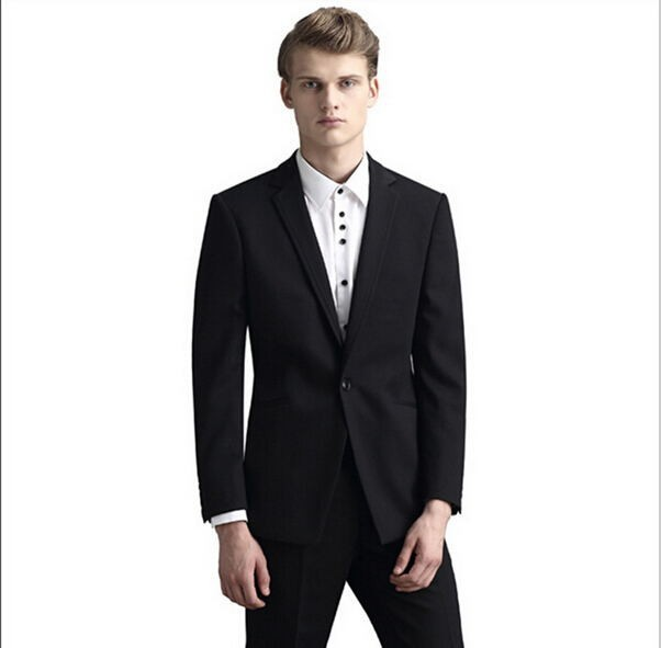 New/ Business and leisure suit tide Ball gown temperament of cultivate one's morality men suit two piece suit (jacket and pants)