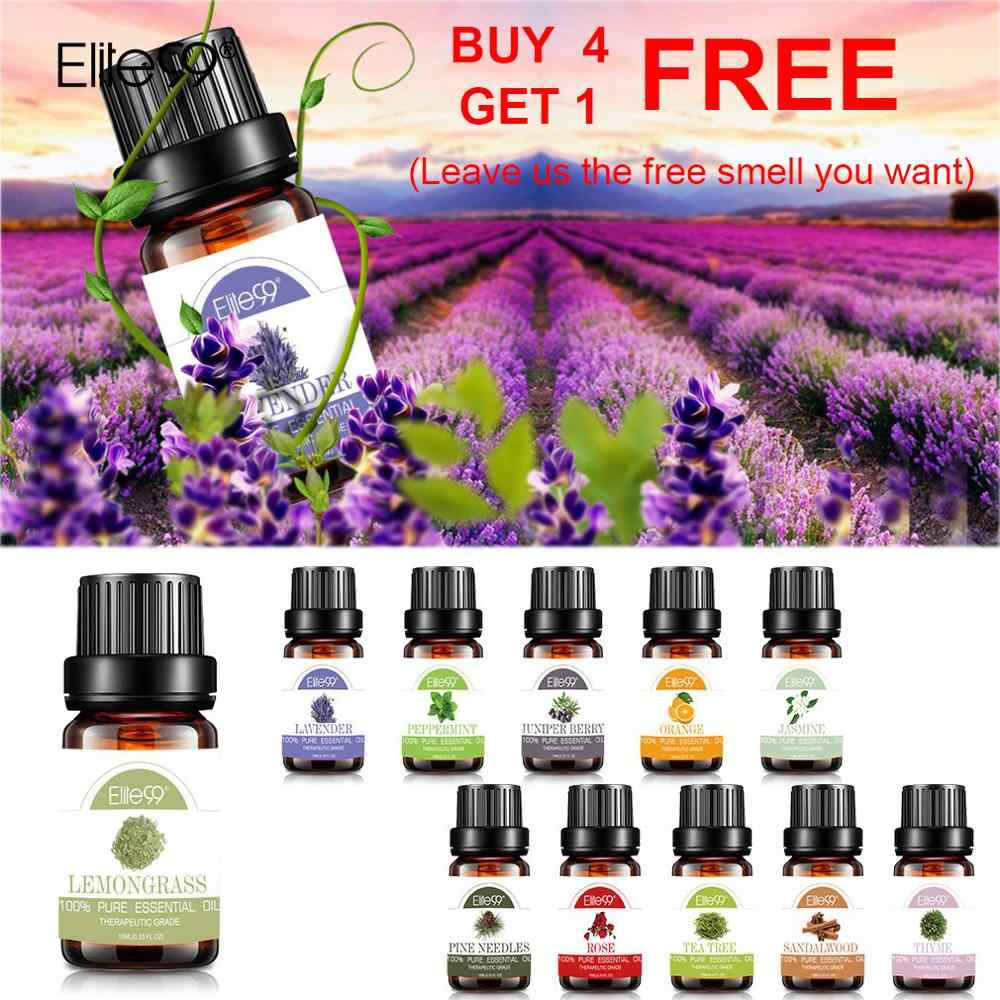 Elite99 10ml Lavender Essential Oils Massage Oil Bathing Skin Care Tea Tree Oil For Aromatherapy Diffusers Natural Essential Oil