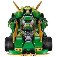 2018 Ninja Car 618 Pcs DIY Building Block Sets Educational Toys For Children Compatible LegoING Ninjagoes