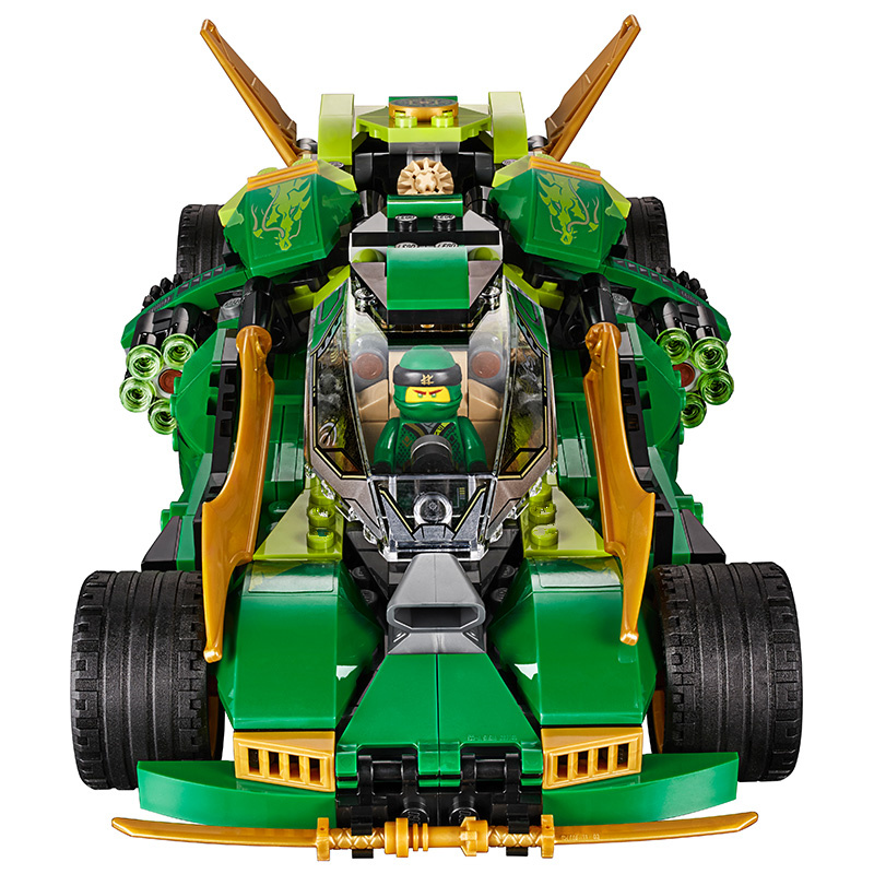 2018 Ninja Car 618+pcs DIY Building Block Sets educational Toys for Children Compatible LegoING ninjagoes