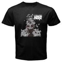 LINKIN PARK Living Things Alternative Rock Band uomo Nero T-Shirt Taglia S-3XL