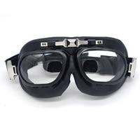 Motorrad-schutzbrille Fliegen Roller Aviator Retro Helm Brille Für Motorrad Zubehör Sonnenbrille